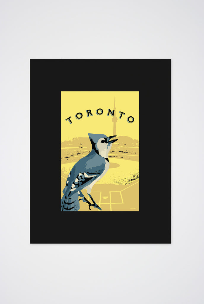 Blue Jays Art Print - Main and Local