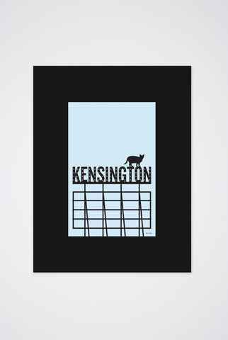 Kensington Cats Art Print - Main and Local
