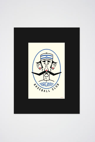 Maple Leafs Baseball Club Art Print - Main and Local