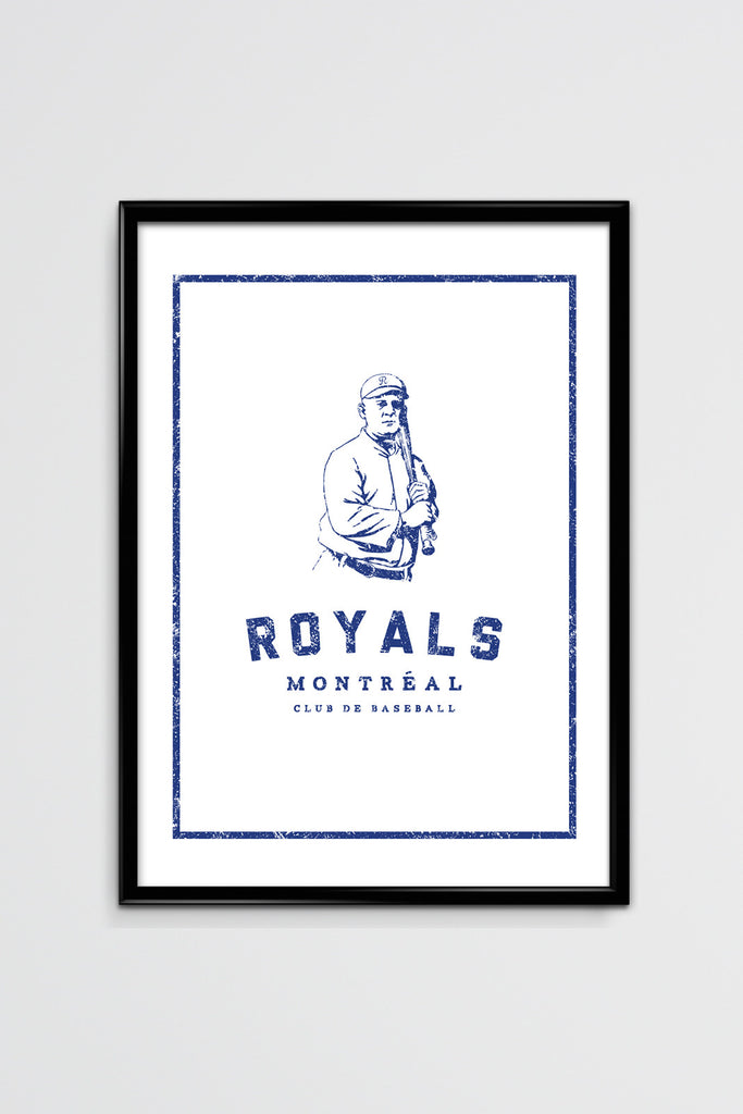 Montreal Royals The Player Silk Screen Poster