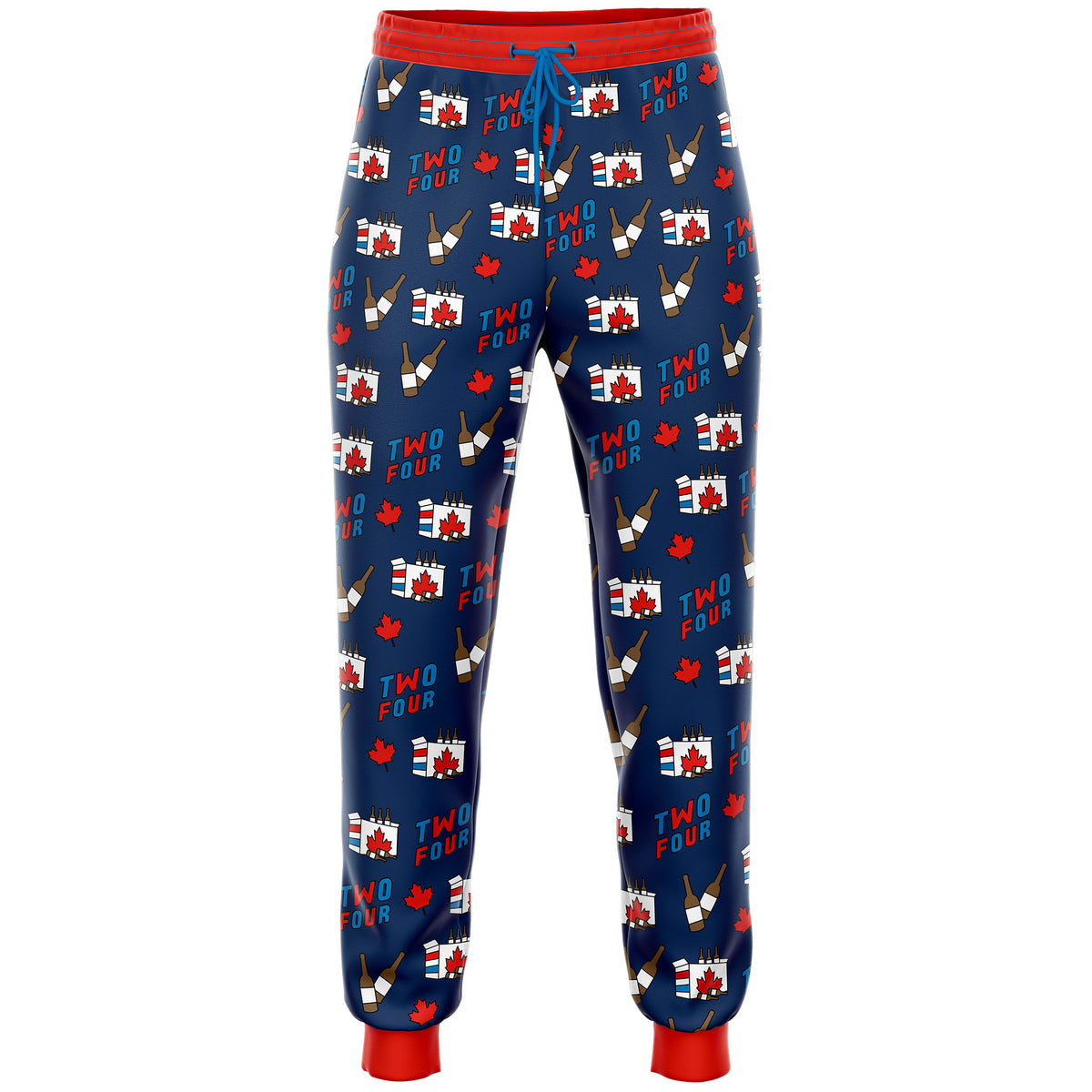 Canadian Two Four Beer Case Pajama Pants