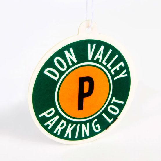 Don Valley Parking Lot Air Freshener - Main and Local