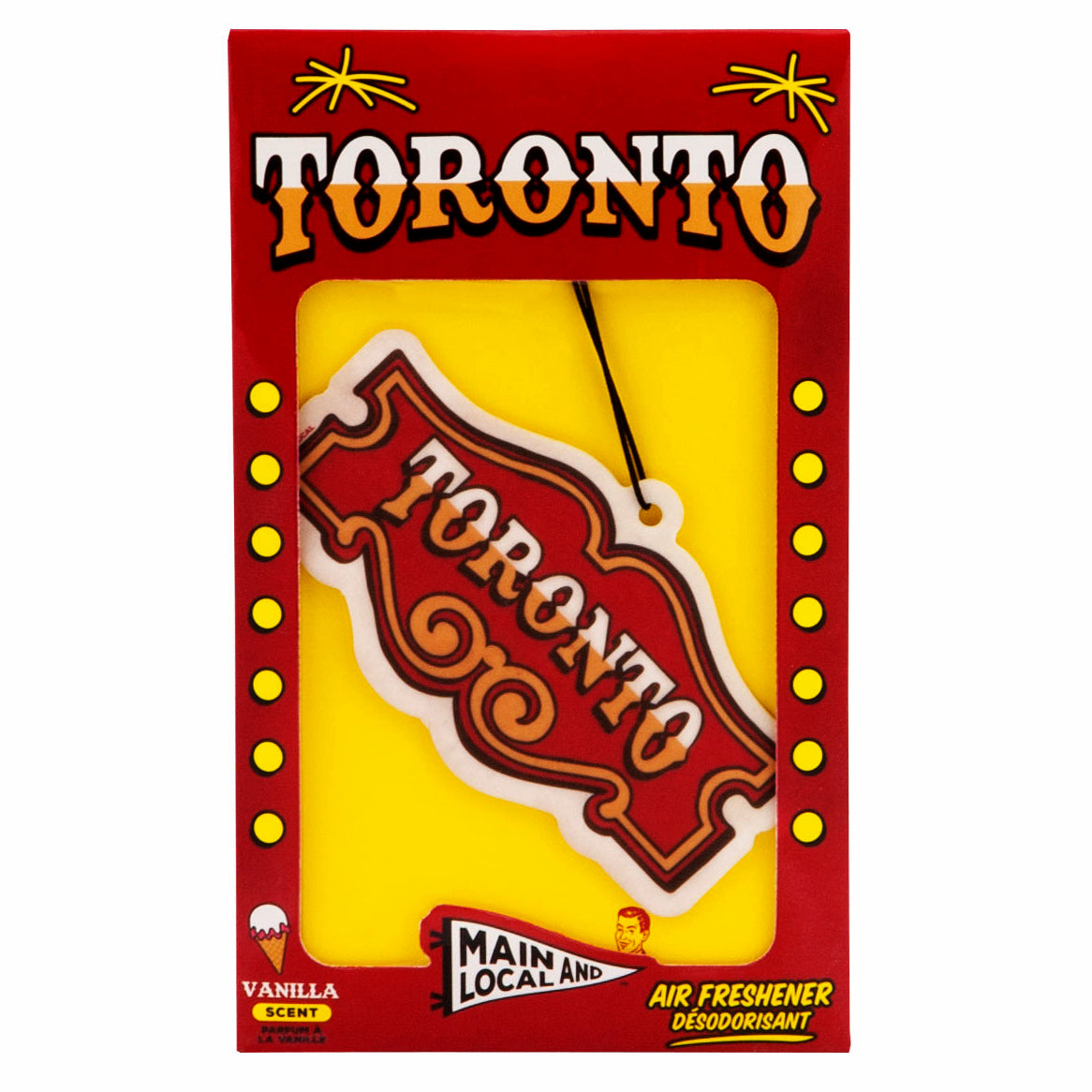 Honest Toronto Air Freshener - Main and Local