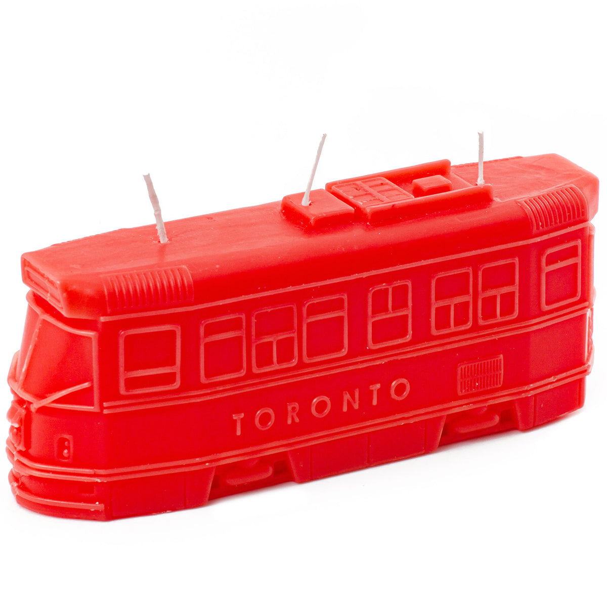 Toronto Streetcar Candle - Main and Local