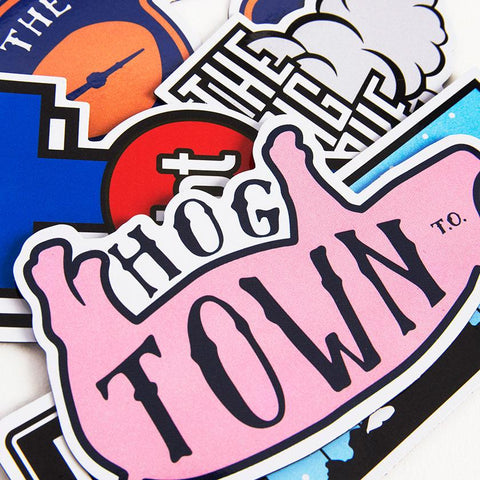 Toronto Nicknames Magnet Pack - Main and Local
