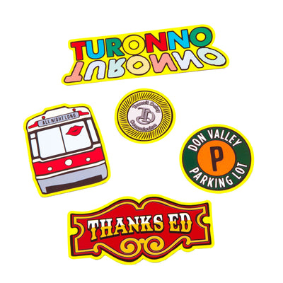 Toronto Icon Magnet Pack