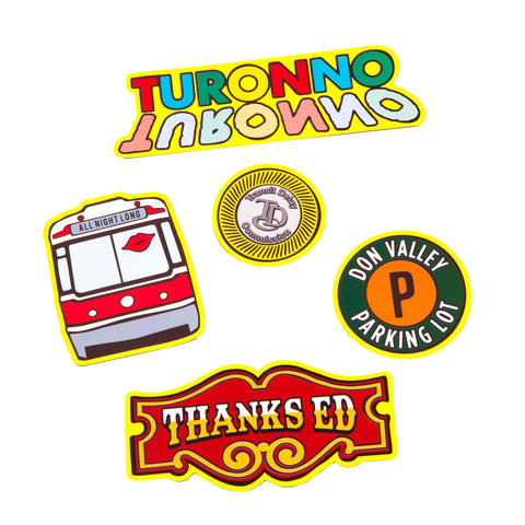 Toronto Icon Magnet Pack - Main and Local