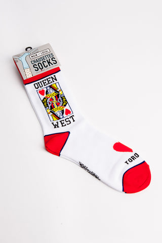 Queen Streets Socks - Main and Local