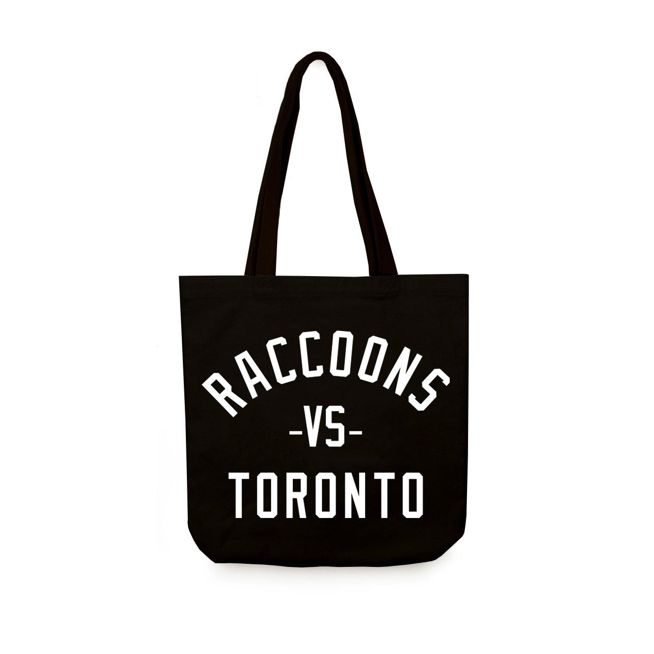 Raccoons Vs. Toronto Tote Bag - Main and Local