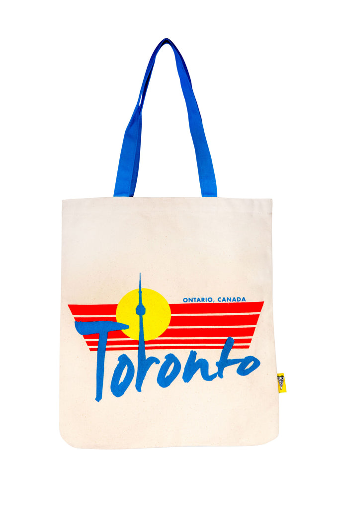 Toronto Retro Tote Bag