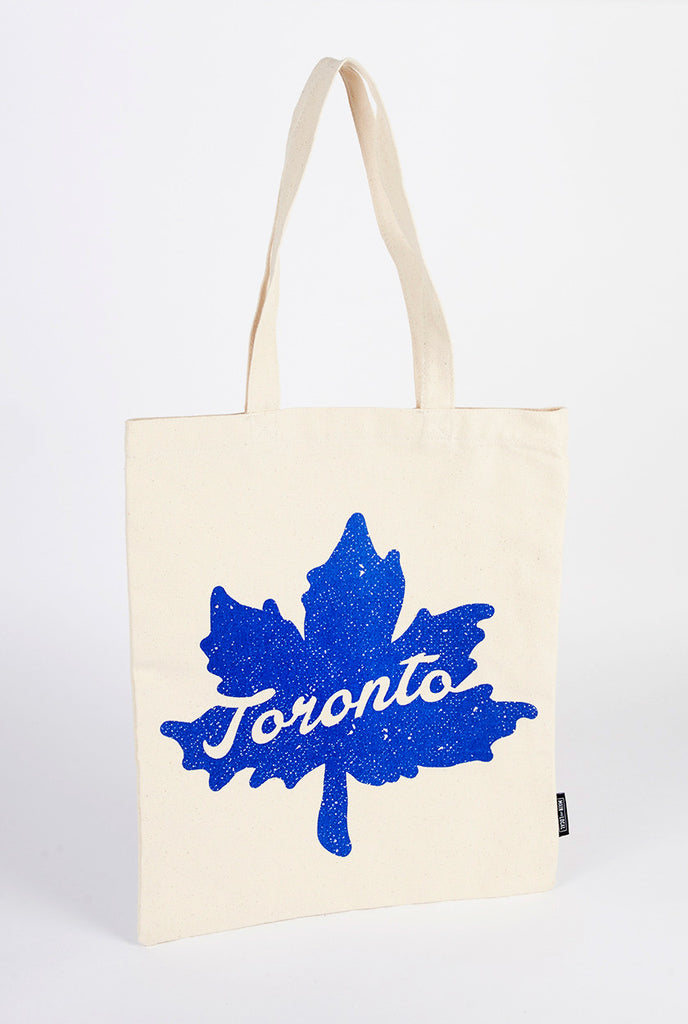 Toronto Leaf Icon Tote Bag - Main and Local