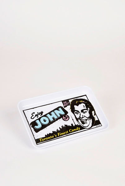 John Candy Tray - Main and Local