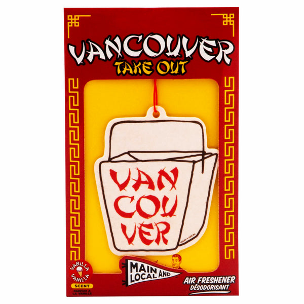 Vancouver Take Out Air Freshener - Main and Local