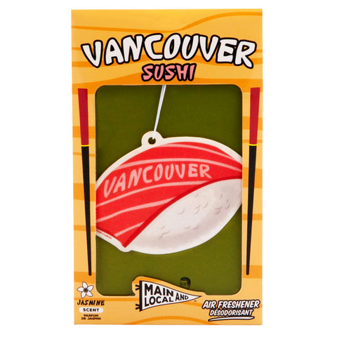 Vancouver Sushi Air Freshener - Main and Local