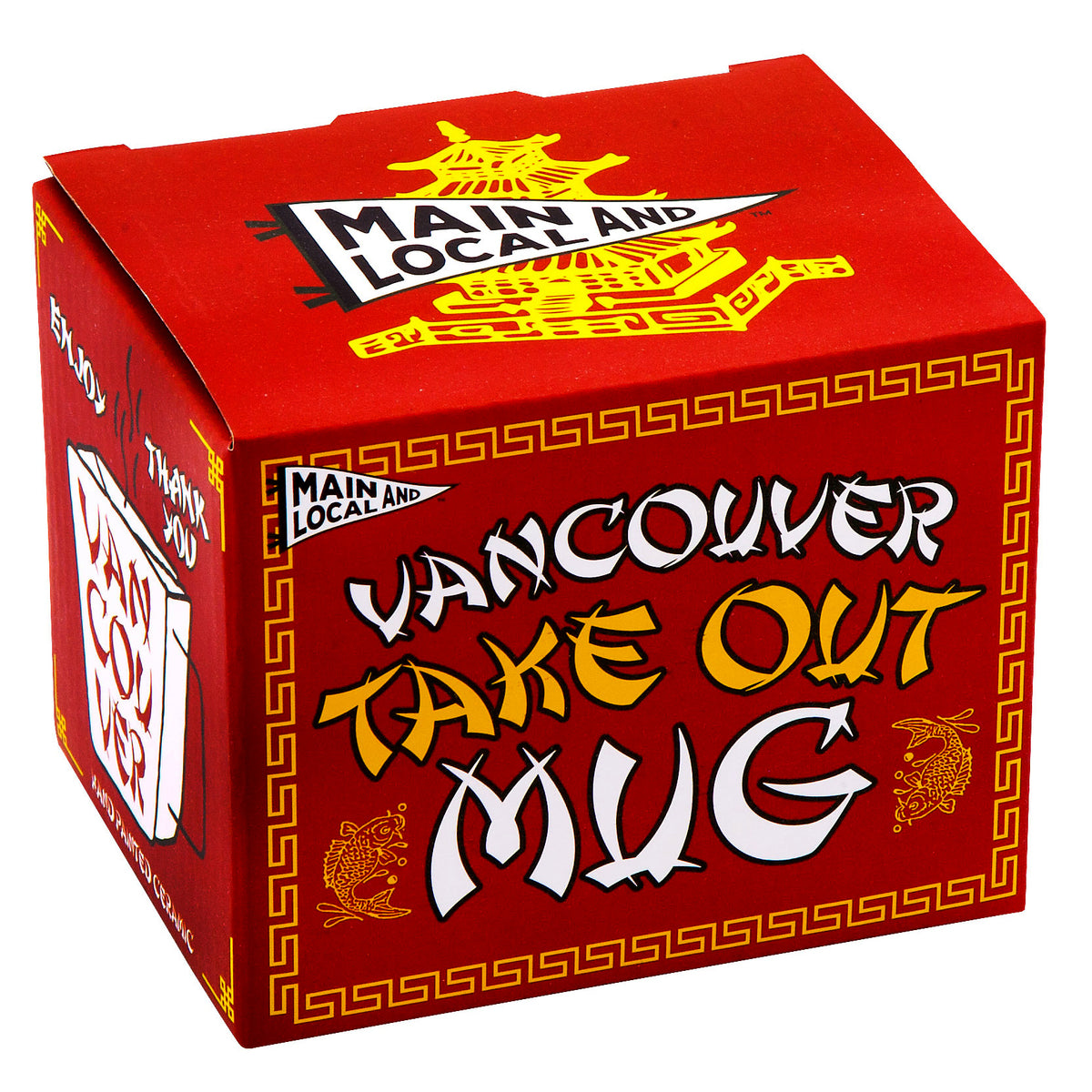 Vancouver Take Out Mug - Main and Local