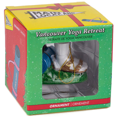 Vancouver Yoga Ornament - Main and Local