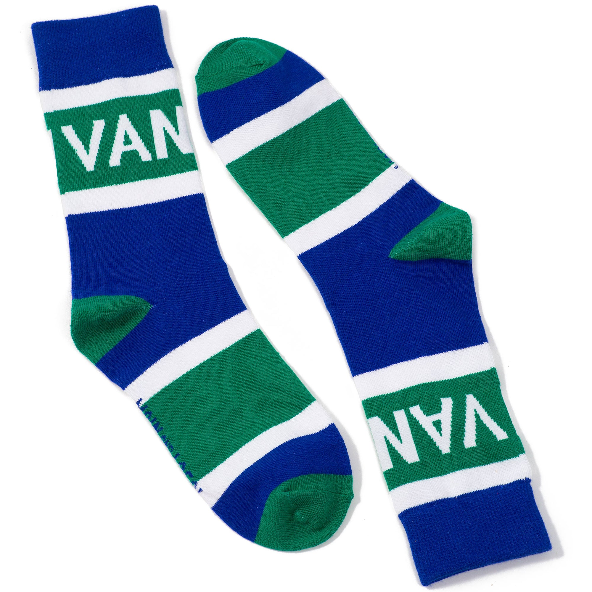 Vancouver City Stripes Socks - Main and Local