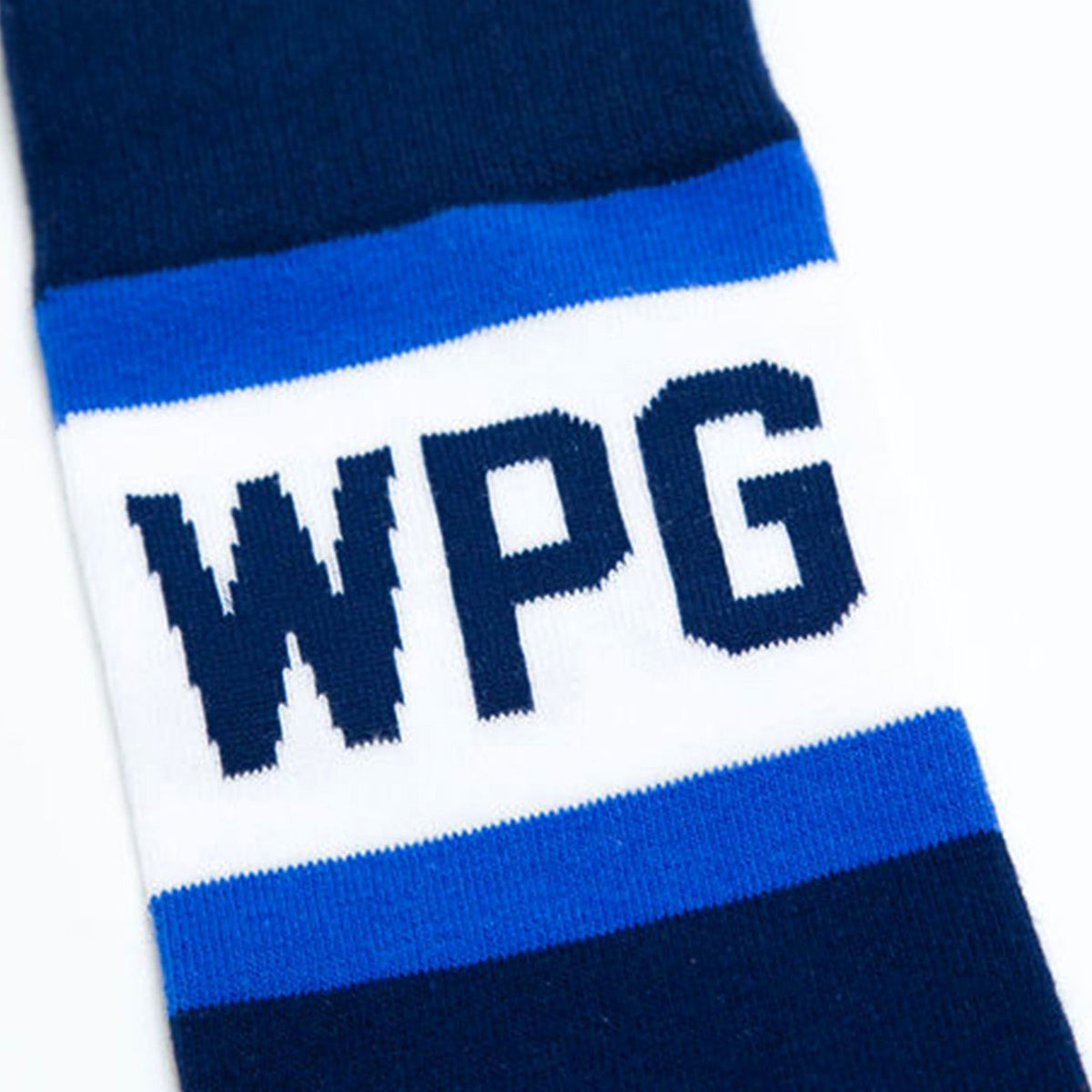 Winnipeg City Stripes Socks - Main and Local