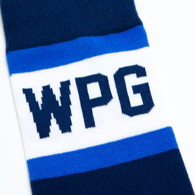 Winnipeg City Stripes Socks