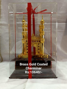 BRASS GOLD COATED CHARMINAR