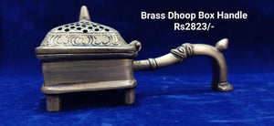 BRASS DHOOP BOX HANDLE