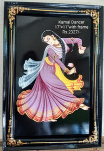 NIRMAL PAINTING KAMAL DANCER 17x11