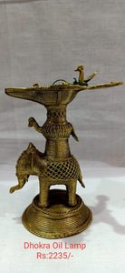 DHOKRA OIL LAMP