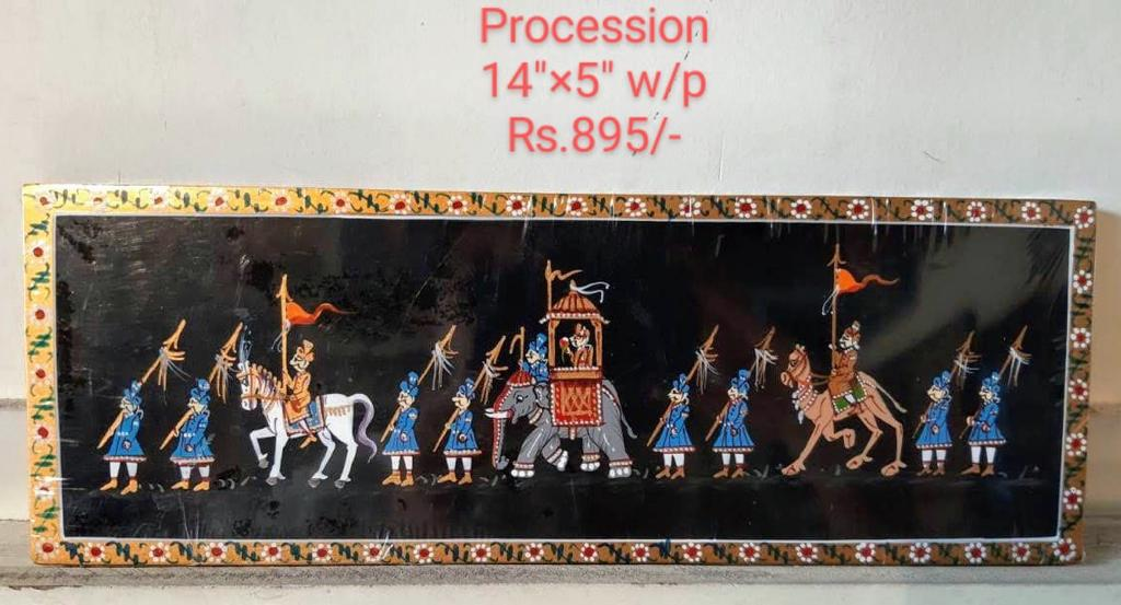 NIRMAL PAINTING PROCESSION 14X5