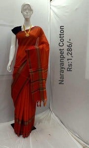 NARAYANPET COTTON SAREE