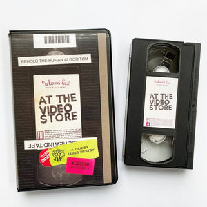 LUNCHMEAT Proudly Presents AT THE VIDEO STORE Documentary on Limited Press VHS!