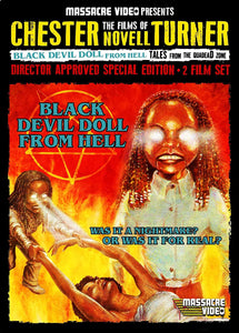 Louis Justin and His Massacre Video Label Bring the Much Coveted VHS Gems BLACK DEVIL DOLL FROM HELL and TALES FROM THE QUADEAD ZONE and their Director Chester N. Turner Back from the Grave!