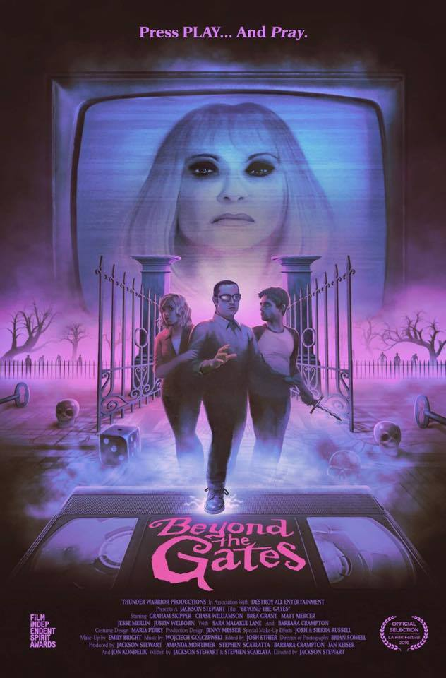 Director Jackson Stewart Pays Homage to VCR Board Games and Classic 80s Horror with his New Film BEYOND THE GATES! Interview, Trailer and Confirmation of a VHS Release!