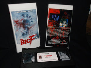 ROCK BOTTOM VIDEO Celebrates the Analog Way and Brings Their Bigfoot B-Flick THE BIG F to VHS Accompanied by the Slasher Dave Soundtrack on Audio Cassette! DIG IT!