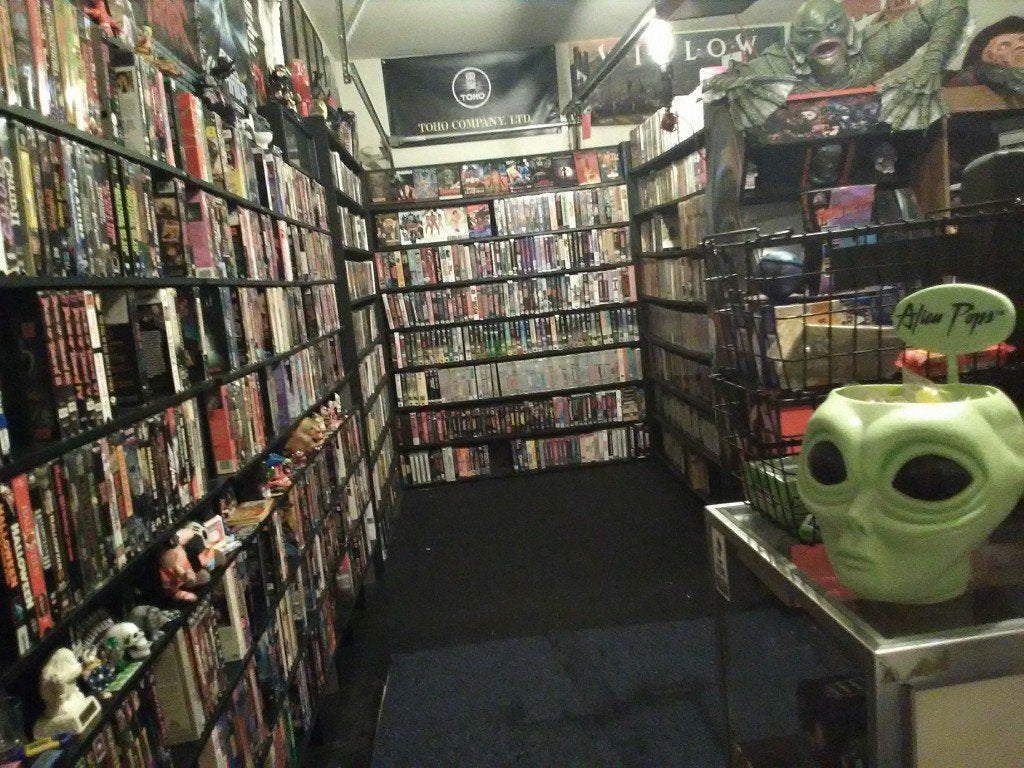 Houston, TX Tapehead Jason Champion Creates CHAMPION VIDEO: a Functional and Fantastic Video Rental Store in His Own Home!