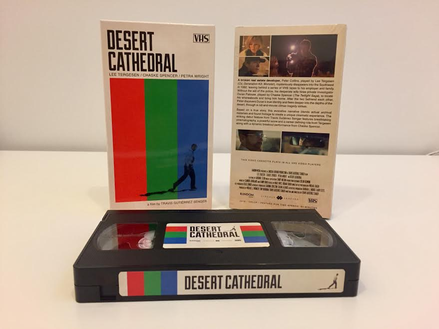 Asa Nisi Masa Films and Director Travis Gutierrez Senger Release Found Footage Film DESERT CATHEDRAL on Special Edition VHS! Click for Trailer and Full Details!