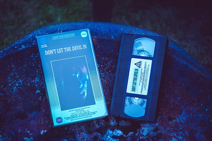 WEIRD LIFE LTR Brings the Courtney Sell Horror Film DON'T LET THE DEVIL IN to Limited Edition VHS!