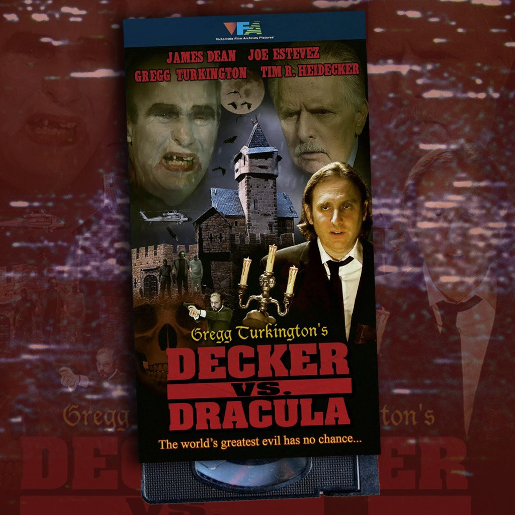 Comedians Tim Heidecker and Gregg Turkington AKA Neil Hamburger Hit Fresh VHS with the release of DECKER VS. DRACULA!