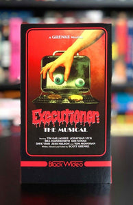 BLACK VVIDEO Brings shot-on-video obscurity EXECUTIONER: THE MUSICAL back to VHS! Next up: RAMBONER Double-Feature Dropping June 21st!