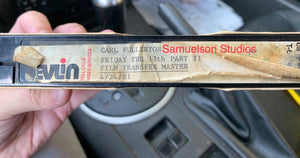 FRIDAY THE 13th: PART II Lost Footage Finally Found on 40-year-old VHS Tape!