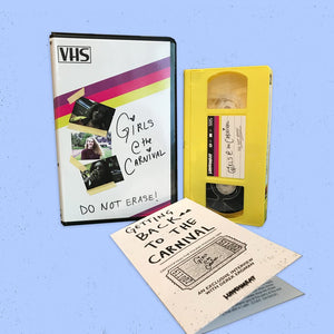 Obscure Found Footage Gem GIRLS AT THE CARNIVAL Now Available on Limited Edition VHS from LUNCHMEAT!