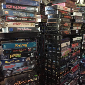 GRAVEFACE RECORDS in Savannah, GA Ready to Unleash VHS Rental Section for Their 6 Year Anniversary!