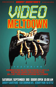 GROOVY GRAVEYARD Presents the VHS MELTDOWN FEST this Saturday, Sept 3rd 2016! Click for an Interview with Head of the Graveyard Eric Krause and all the Event Details!