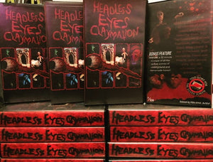 Brewce Longo's HEADLESS EYES CLAYMATION Comes to VHS via VIDEO ARENA! Experience a Mind-Melting Mix of Indie Animation Insanity!