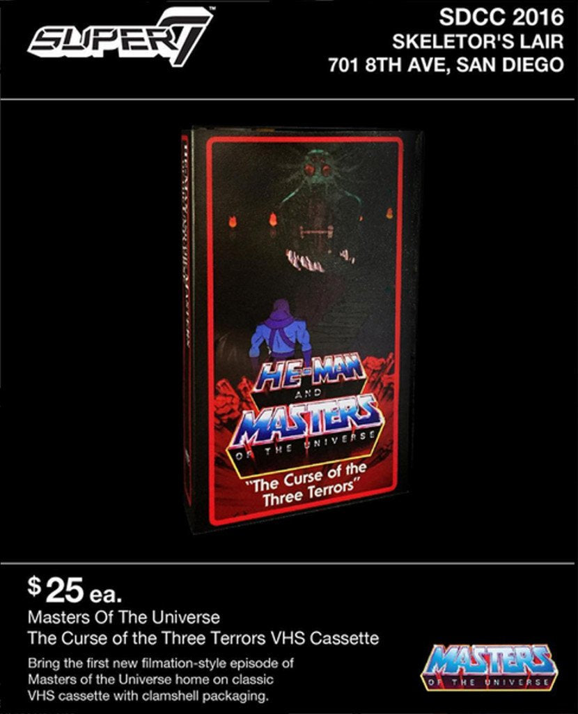 SUPER7 Brings Brand New HE-MAN AND THE MASTERS OF THE UNIVERSE Cartoon to VHS for San Diego Comic Con!