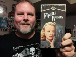 "VIDEOVORE SPOTLIGHT: Jason Stephenson and His Complete Collection of Universal ""Silver Top"" Horror VHS Releases!"