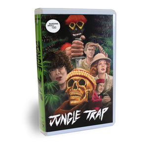 MONDO and BLEEDING SKULL! VIDEO Bring Previously Unseen Shot On Video Obscurity JUNGLE TRAP to VHS and DVD!