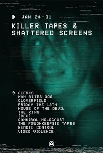 KILLER TAPES AND SHATTERED SCREENS Brings a Week of Home Video-Driven Screenings to Alamo Drafthouse Yonkers for the Last Week of January 2018!