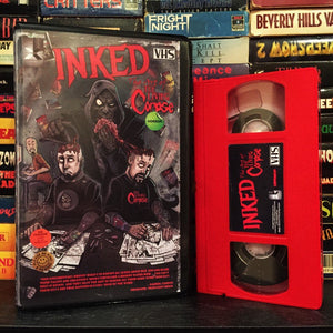 LUNCHMEAT Proudly Presents the Comic Book Documentary INKED: THE ART OF THE LIVING CORPSE on Limited Edition VHS! Click the link for Info on How to Score Your Slab!!
