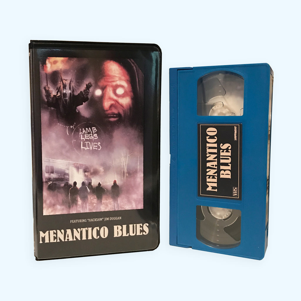 LUNCHMEAT Proudly Presents the Darkly Comedic Folklore Horror Film MENANTICO BLUES on Limited Edition VHS!