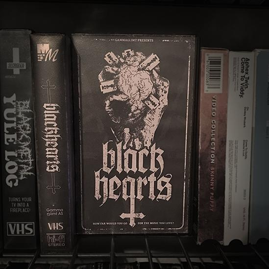 MAGNETIC MAGIC RENTALS to Release Black Metal Documentary BLACKHEARTS via Limited Edition VHS on APRIL 11th!